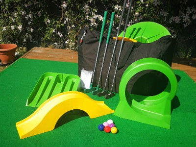 Mini Golf for home, garden and outdoor parties